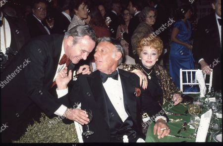 Jack Lemmon, Gary Morton and Lucille Ball