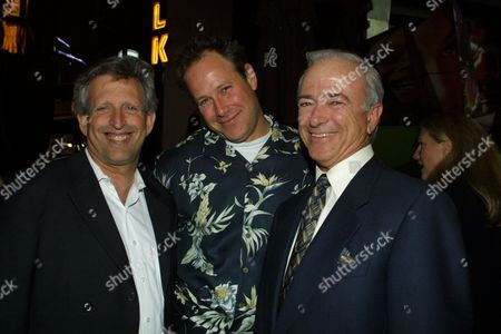 03-28-01  Universal City Walk, CA Joe Roth, Tod Garner and Mel Harris at the Hard Rock Cafe on the Universal City Walk for the post premiere party of Sony/Revolution Film's 'Tomcats'  Photo by Alberto Rodriguez ® Berliner Studio/BEImages