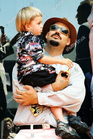 Christopher Coppola and son