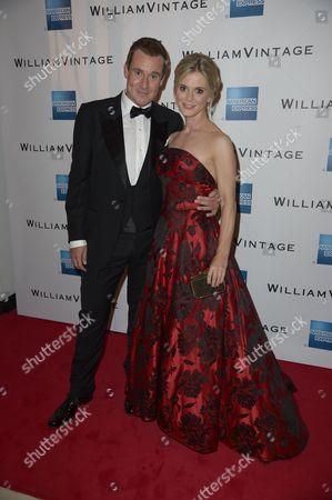 William Banks-Blaney and Emilia Fox
