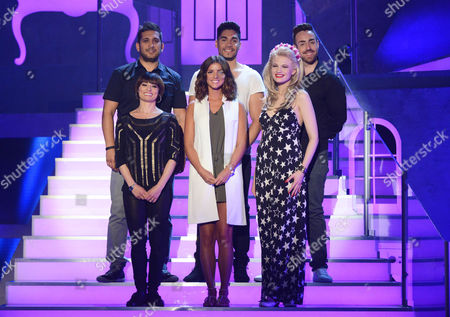Couples - Jimi Mistry, Flavia Cacace, Lucy Mecklenburgh, Louis  Smith, Stevi Ritchie and Chloe-Jamsmine Whichell
