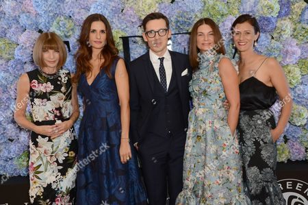 Editorial photo of The London Erdem Green Carpet Challenge Collection, Spring Summer 2016, London Fashion Week, Britain - 21 Sep 2015