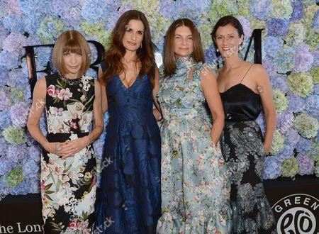 Anna Wintour, Livia Giuggioli, Natalie Massenet, Sally Singer