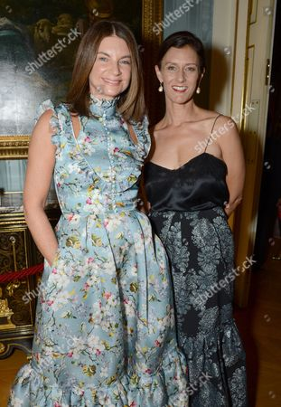 Stock Image of Natalie Massenet, Sally Singer