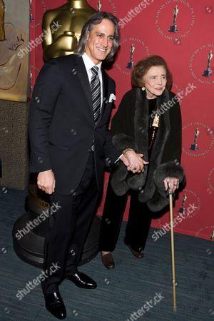 Dr. Douglas Schwartz and Patricia Neal