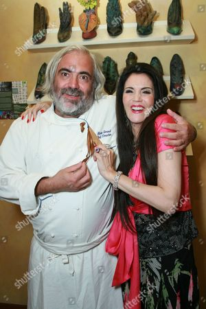 Chef Alain Giraud and Barbara Lazaroff