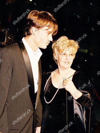 "Johnny Depp and mother Elizabeth ""Betty"" Sue Wells"