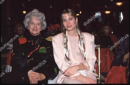 Stock Photo of Trudy Marshall and Deborah Raffin