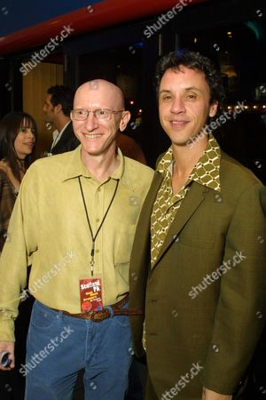 Stock Photo of Jeff Lipsky and Director Billy Morrissette