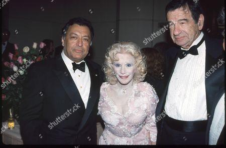 Zubin Metha, Carol and Walter Matthau