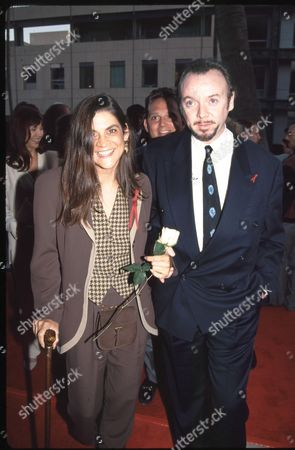 Aileen Getty and Bud Cort