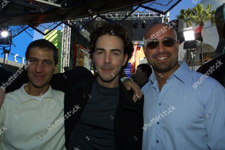 Mike Tollin, Director Shawn Levy and Michael Goldman
