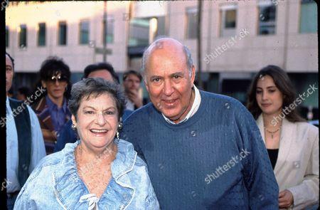 Carl Reiner and wife Estelle Reiner