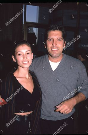 Jane March and husband Carmine Zozzora