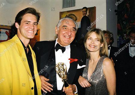 Jim Carrey, Fyvush Finkel and Michelle Pfeiffer