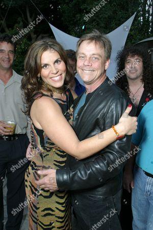 Lori Alan and Mark Hamill