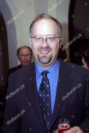 """20010120 West Hollywood Doug Wright screenwriter of Quills at the  Fox Searchlight pre Golden Globes in honor of """"Quills"""". Photo®Alex Berliner/BEI"""