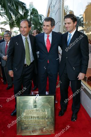 Massimo Ferragamo, Ferrucio Ferragamo & James Ferragamo