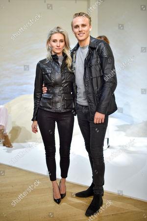 Stock Photo of Chloe Roberts and Max Chilton