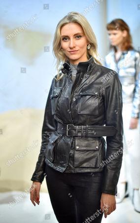 Editorial photo of Belstaff Presentation, Spring Summer 2016, London Fashion Week, Britain - 21 Sep 2015
