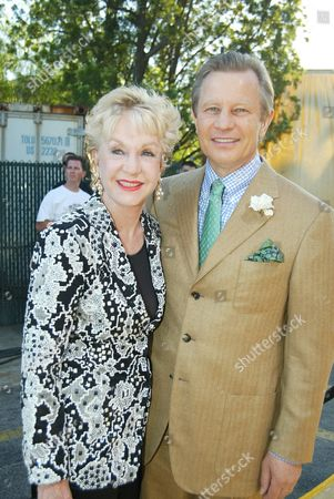 """07/22/02  Universal City, CA Michael York and wife Patricia McCallum The premiere of Newline's """"Austin Powers in Goldmember"""" held at the Universal Amphitheatre at Universal City Walk.  The film opens nationwide July 26. Photo@Berliner Studio/BEImages.net"""