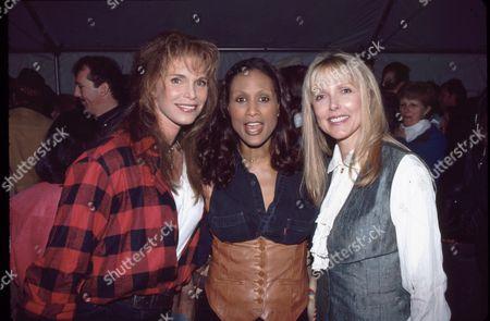 Ann Turkel, Beverly Johnson & Susan Blakely