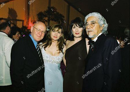 Stock Picture of Daniel Benzali, Kim Cattrall, Anjelica Huston and Robert Graham