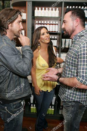 Grant Reynolds, Jillian Reynolds and Kiehl's Chris Salgardo
