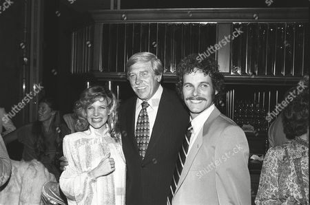 Stock Photo of Debby Boone, Howard Keel and Gabriel Ferrer