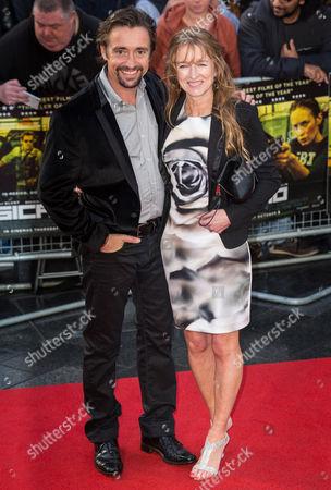 Richard Hammond and Amanda Etheridge