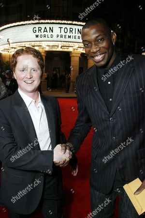 Stock Picture of Christopher Carley and Nana Gbewonyo