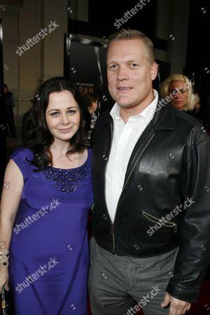 Geraldine Hughes and Brian Haley