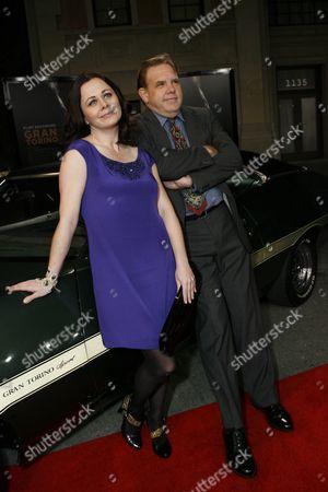 Brian Haley and Geraldine Hughes