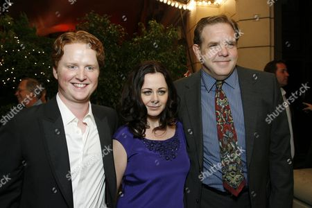 Christopher Carley, Geraldine Hughes and Brian Howe