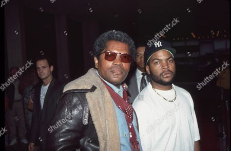 Clarence Williams III and Ice Cube