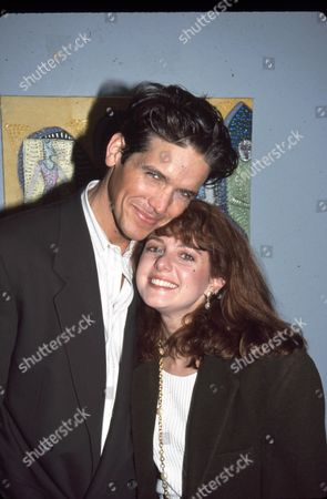 Stock Picture of Michael Damian and Kelli Rabke