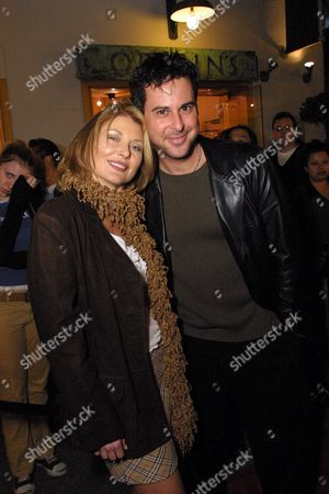 Stock Photo of Beth Broderick and Jonathan Silverman