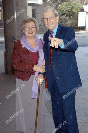 Bob Holness with wife