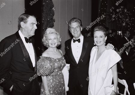 Fred MacMurray, June Haver, Robert Stack & Rosemary Stack