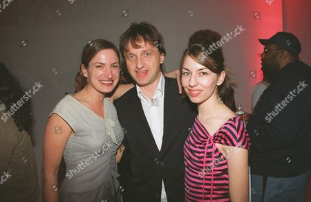 Stock Picture of Zoe Cassavetes, James Truman and Sofia Coppola