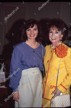 Ann Blyth and daughter