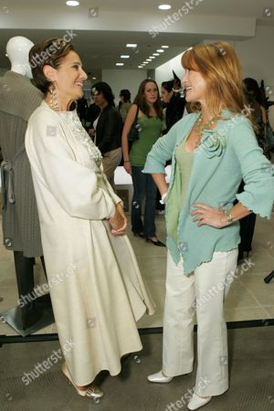 Jane Seymour and Designer Rebecca Moses