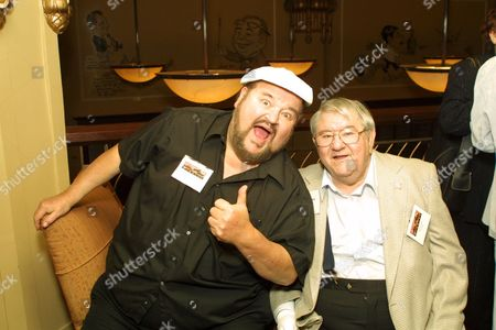 Dom DeLuise and Buddy Hackett