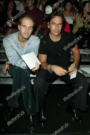 Editorial image of Marc Jacobs show, Spring 2004 Mercedes Benz New York Fashion Week, USA - 15 Sep 2003