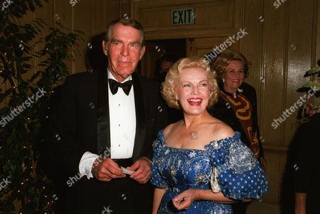 Fred MacMurray, wife June Haver MacMurray