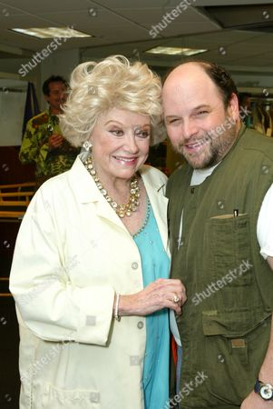 Phyllis Diller and Jason Alexander