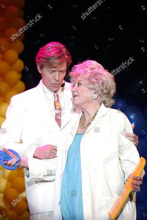 Phyllis Diller and Jack Wagner