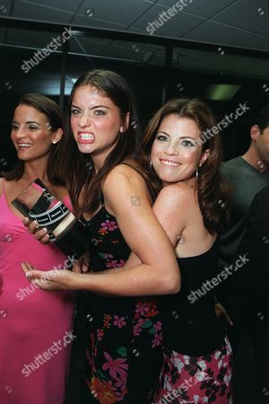 """20000601      Hollywood, CA Jodi Lyn O'Keefe and Yasmine Bleeth  at the Movieline Magazine 2nd Annual """"Young Hollywood Awards""""hosted by Kathy Griffin. Photo®Alex Berliner/BEI  A005446-24"""