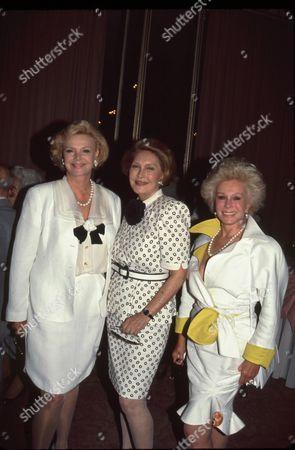 Barbara Sinatra, Ginny Mancini, Eva Gabor