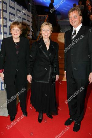 Editorial photo of THE GERMAN MEDIA AWARDS, BADEN BADEN, GERMANY - 13 FEB 2005